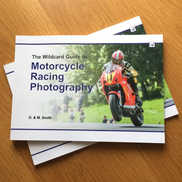 Guide to motorcycle racing photography book front cover